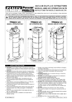Instruction Manual for Sealey TP6904 Vacuum Oil & Fluid Extractor Manual/Air 9ltr