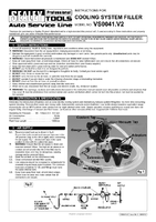 Instruction Manual for Sealey VS0041 Cooling System Filler