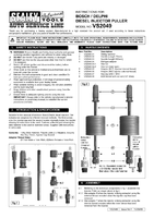 Instruction Manual for Sealey VS2049 Bosch/Delphi Diesel Injector Puller