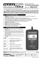 Instruction Manual for Sealey VS212 Glow Plug Analyser