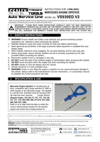 Instruction Manual for Sealey VS930ED Mercedes Engine Dipstick (96-05)