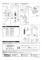Parts List for Sealey VSE127H Hydraulic Ball Joint Installation/Removal Kit - BMW