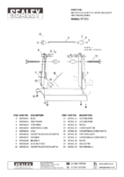 Parts List for Sealey Wts01 Motorcycle & Bicycle Wheel Balancer & Truing Stand